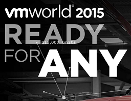 VMworld 2015, Ready for any!